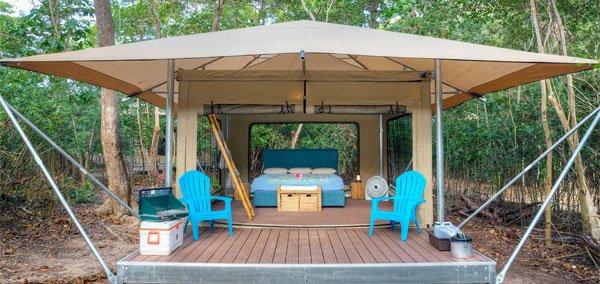 Cinnamon Bay Resort St John eco tent
