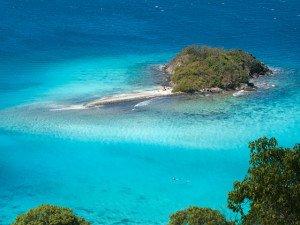 Snorkeling Waterlemon Cay in St John US Virgin Islands