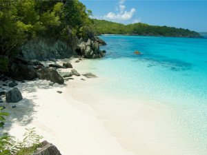 Trunk Bay Beach on Saint John, USVI