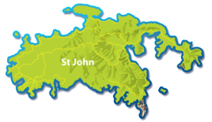 Mini map of St John