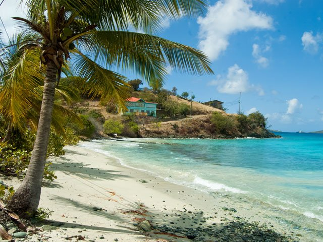 Frank Bay Beach on St John, US Virgin Islands