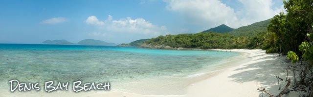 Denis Bay Beach, St John US Virgin Islands best beaches