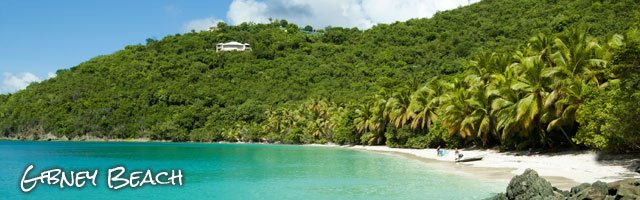 Gibney Beach, St John US Virgin Islands top beaches