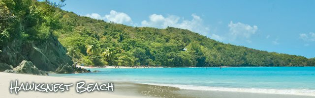 Hawksnest Beach, St John US Virgin Islands best beaches