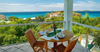 St John vacation villa rental Blue Coral