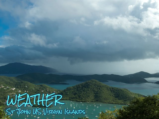 St John USVI weather forecast