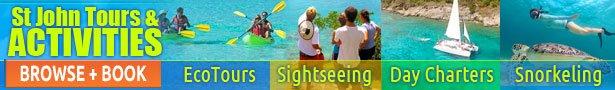 St Thomas activities - St John activities book online