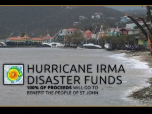 St John Hurricane Irma disaster funds
