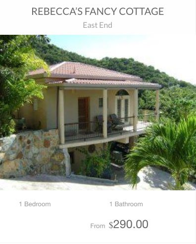Rebeccas Fancy Cottage St John vacation rental