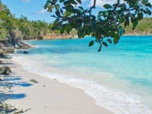 Little Hawksnest Beach, St John secret beach US Virgin Islands