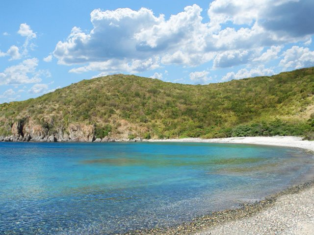 Grootpan Bay Beach on St John, US Virgin Islands