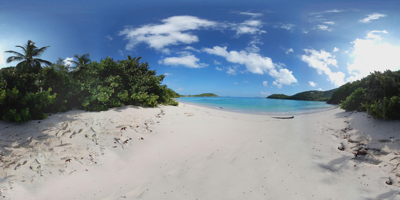 360 Vr View Of Hawksnest Beach