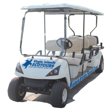 Honeymoon Beach golf cart taxi service