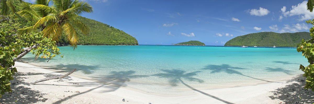 Maho Bay Beach St John Island