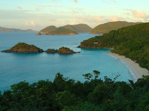 Trunk Bay beach St John USVI