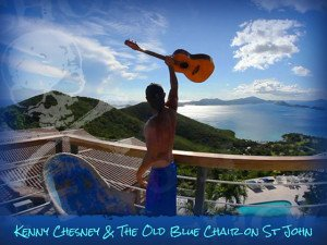 Kenny Chesney on St John USVI