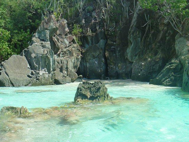 Mermaids Chair Beach On St John Us Virgin Islands