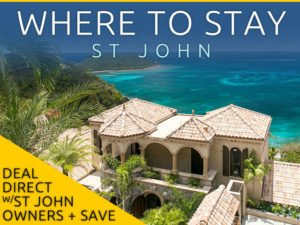 St John places to stay, resorts, hotels, villas, camping