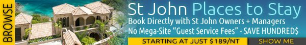 St John hotels and resorts vacation rentals near Trunk Bay