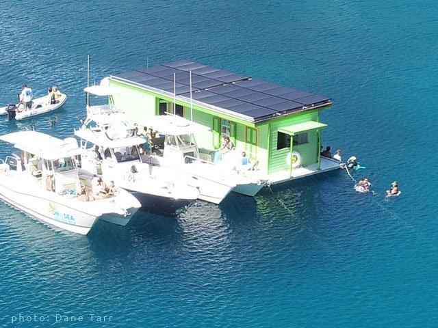 St John Floating Bar Lime Out VI