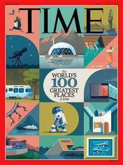 Time magazine 100 greatest places 2019