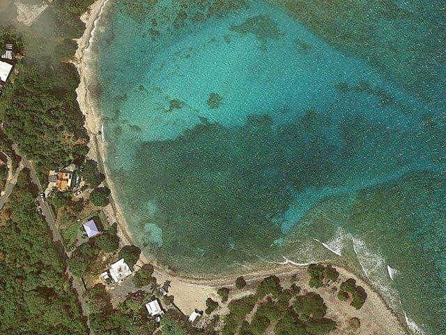 Friis Bay, St John, US Virgin Islands aerial photo