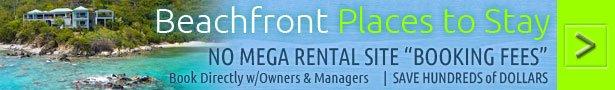 St John hotels and resorts vacation rentals near Trunk Bay