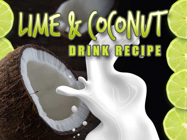 Lime and Coconut Drink Recipe